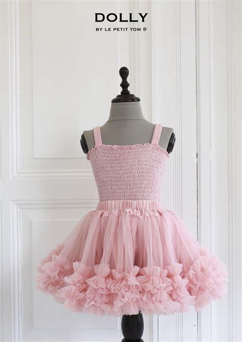 Top Tutu Skirt Set pink frilly top and tutu skirt set le petit tom