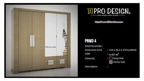 lowongan kerja pro design surabaya lemari 4 pintu pnwd 4 prodesign harga termurah
