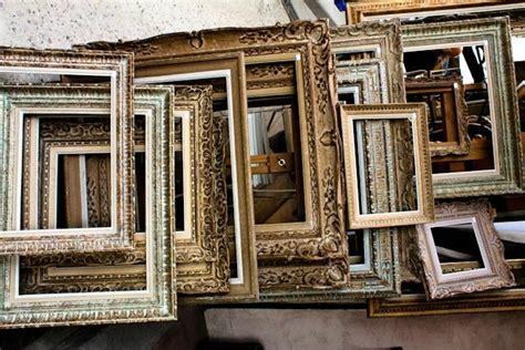 cornici per quadri economiche come far rivivere le vecchie cornici 10 idee per