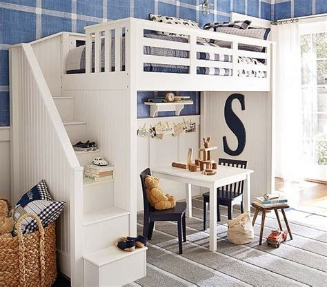 pottery barn loft bed catalina stair loft bed pottery barn kids loft beds and