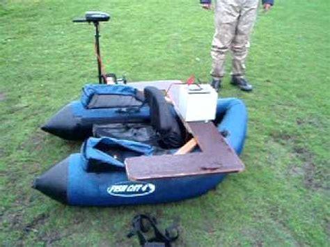 belly boot met motor bellyboat varen met elektromotor deel 6 youtube