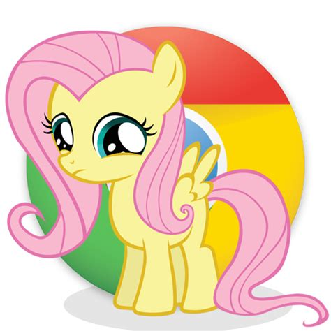 theme google chrome my little pony google chrome by liggliluff on deviantart