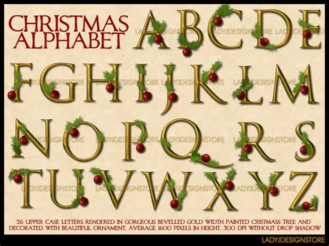decorative christmas letters digital decorative gold alphabet decorative gold alphabet 6 00