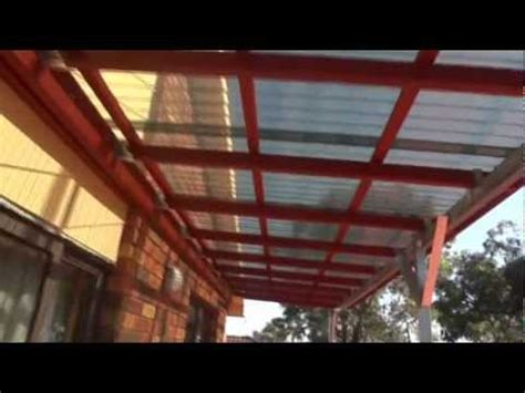My Awning or Roof over my Top Floor Balcony   from Start