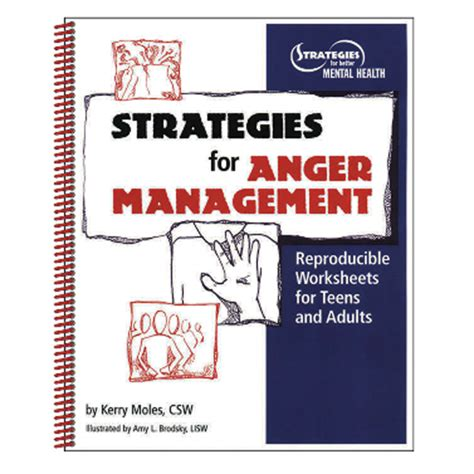 anger management prevention understanding resolution books the bureau for at risk youth format activity books