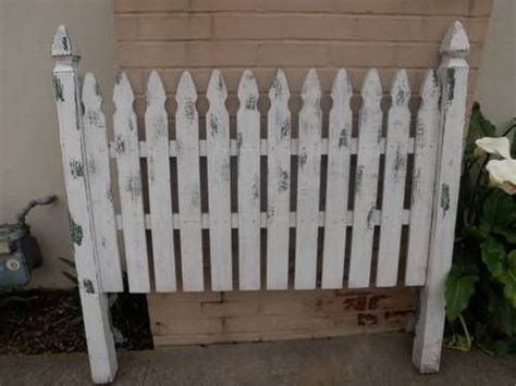 white picket fence headboard fence headboards queen picket fence headboard for 100