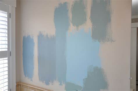 monday morning blues picking a paint color for our master bathroom 2 2 cities