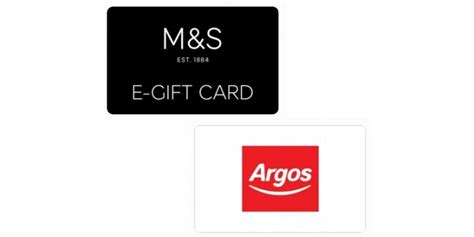 M And S Gift Cards - 163 25 m s or argos gift card for 163 20 using code o2 gift card store