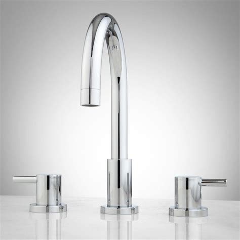 2 Faucet Sink Rotunda Widespread Bathroom Faucet Lever Handles