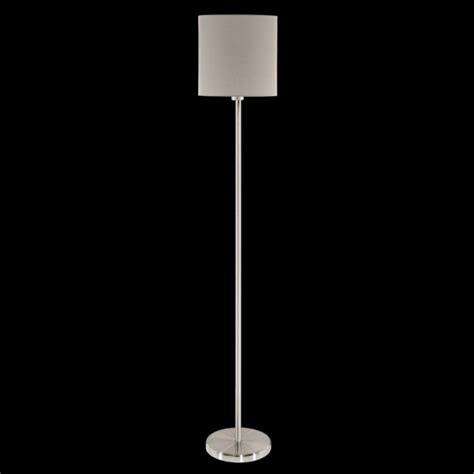 eglo pasteri wall light this is a 1 light floor l complete with a matt taupe shade