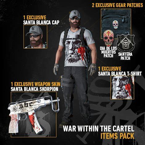 how to score an awesome ghost recon wildlands item pack