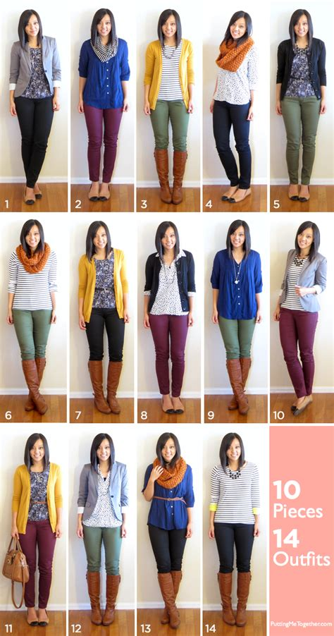 Need A New Wardrobe by 10 Pieces 14 Fall Packing 2013 Putting Me