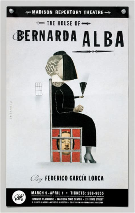 themes in house of bernarda alba the house of bernarda alba poster
