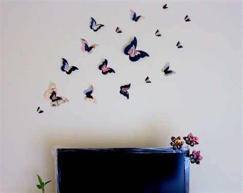Handmade Wall Decoration - loved my new handmade butterfly wall decor