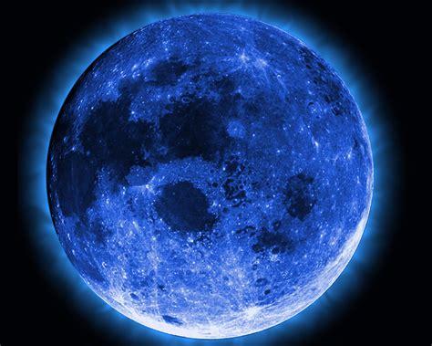 wallpaper blue moon blue moon space wallpaper