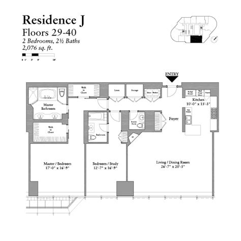 Trump Chicago Floor Plans by Trump Tower Chicago Floor Plans