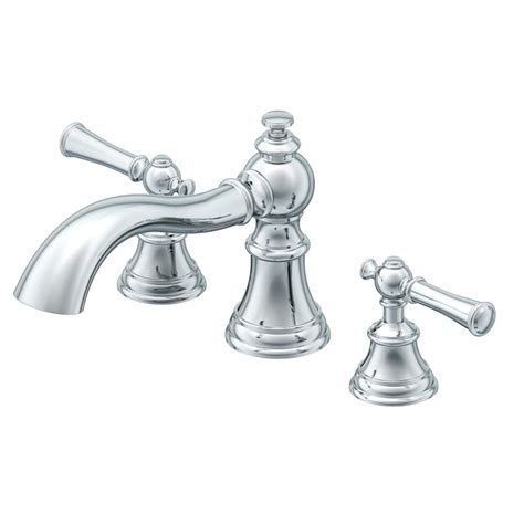 shop aquasource glyndon polished chrome 2 handle