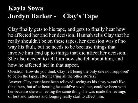 13 reasons why book report thirteen reasons why kayllasowa