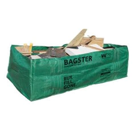 wm bagster dumpster in a bag 775 658 the home depot