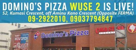Domino Pizza Wuse 2 | 10 best pizza restaurants in abuja ofadaa blog