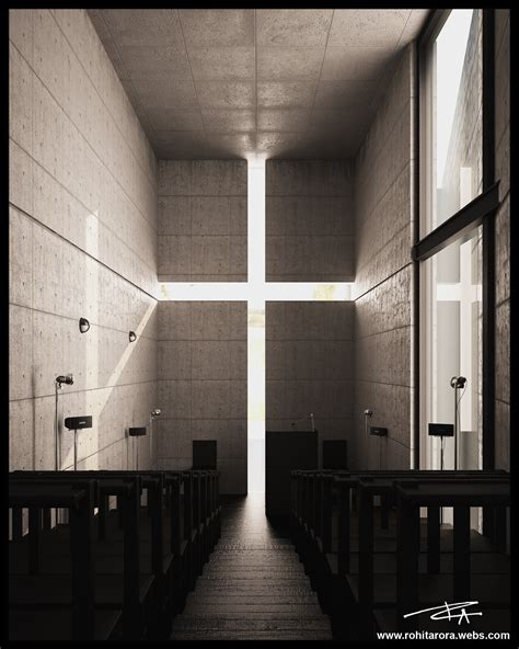 light of church church of light tadao ando portfolio work evermotion