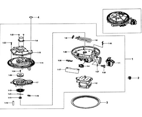 samsung dishwasher parts diagram assy diagram parts list for model dw80f600utwaa0000