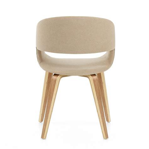 sedia markus sedia in legno e tessuto