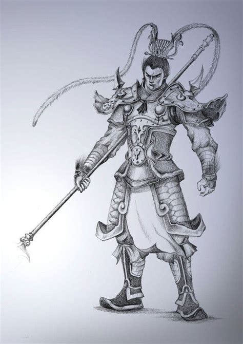 chinese warrior tattoo warrior design ink warrior
