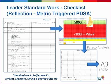 standard checklist template 11 work checklist template excel exceltemplates