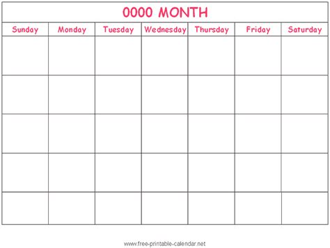 i will print a monthly calendar that i create in excel so that i can