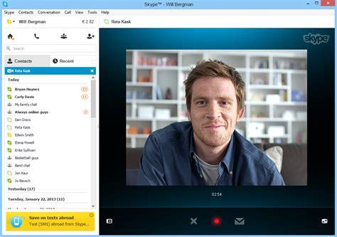 video call layout skype teste l envoi de messages vid 233 o sur windows