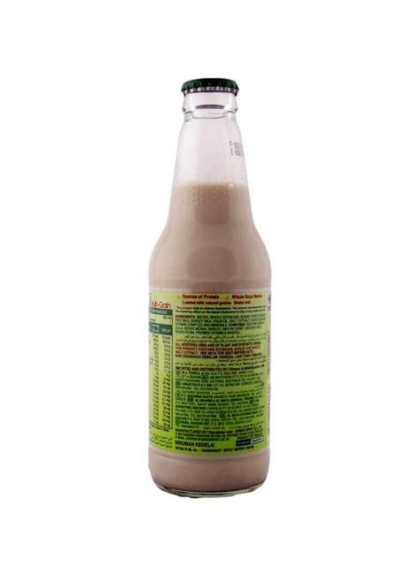 V Soy V Soy Soya Bean Milk Bottle 300ml Kacang v soy soya bean milk multi grain btl 300ml klikindomaret