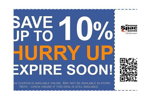 printable coupons kennedy space center