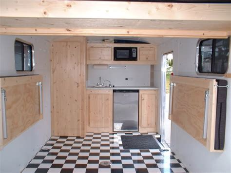 Flooring Ideas Kitchen Cargo Trailer Conversion Paleotool S Weblog