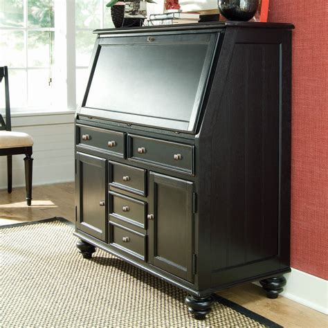 drop lid desk camden drop lid desk black at hayneedle