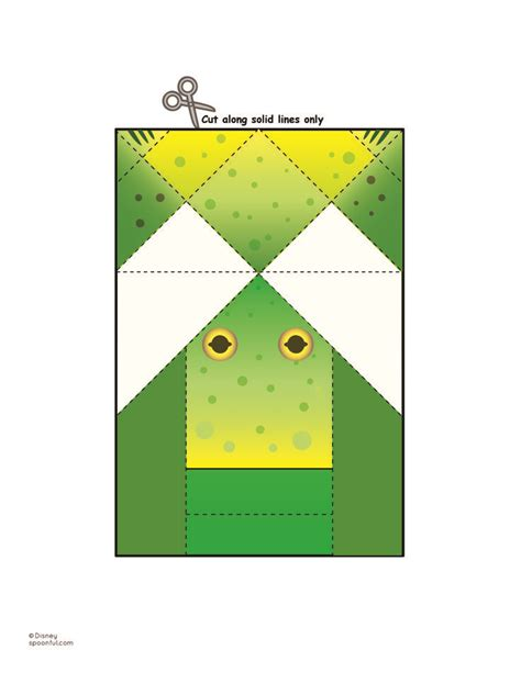 Origami Frog Printable - 10 images about coloring book on reading