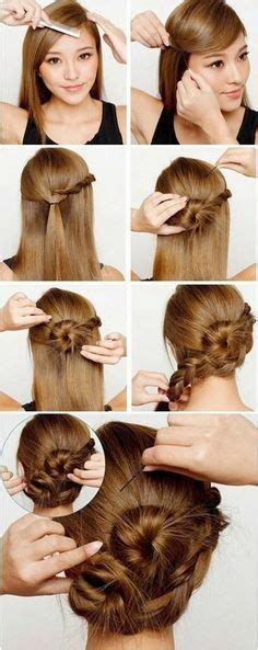 hairstyles for long hair nurses nurse hairstyles on pinterest french fishtail quick