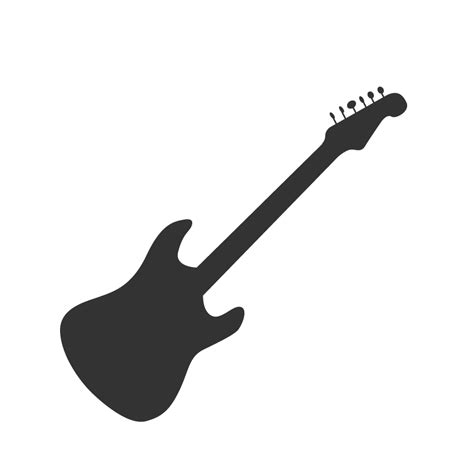 silhouette vector guitar silhouette www imgkid com the image kid has it