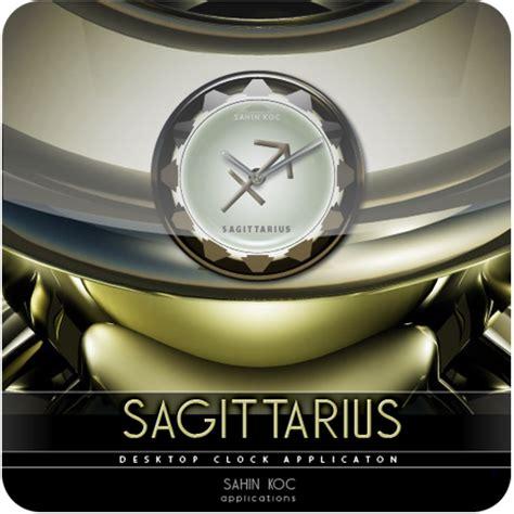 themes clock beautiful sagittarius beautiful clock widget zodiac theme for