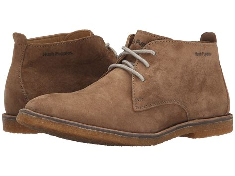 suede hush puppies hush puppies desert ii taupe suede zappos free shipping both ways