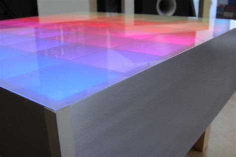 Led Table by 64 Rgb Led Color Table Hacked Gadgets Diy Tech