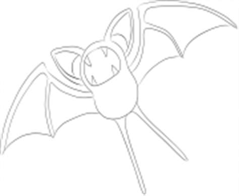 pokemon zubat coloring pages pokemon coloring pages