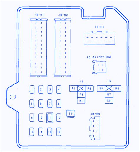 mazda 6 fuse box diagram mazda 6 2 3 2004 fuse box block circuit breaker diagram