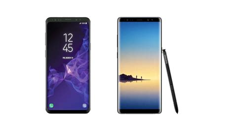Samsung S9 Note Galaxy S9 Plus Vs Galaxy Note 8 Samsung Takes Baby Steps