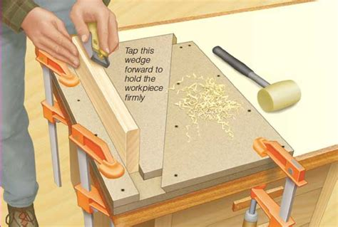wedge style bench vise woodworking blog