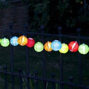 string lights uk solar lantern garden lights