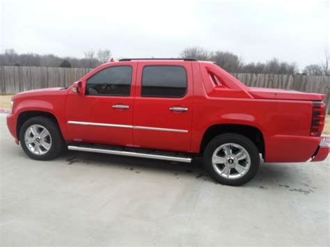 avalanche seats for sale buy used 2008 08 chevrolet avalanche ltz 4x4 4wd fully