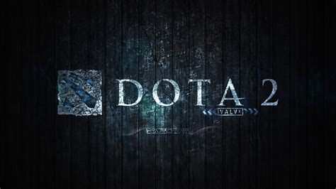 wallpaper dota 2 logo hd dota 2 blue edition background hd wallpaper download