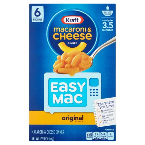 Mac And Cheese Kraft microwave for kraft mac and cheese
