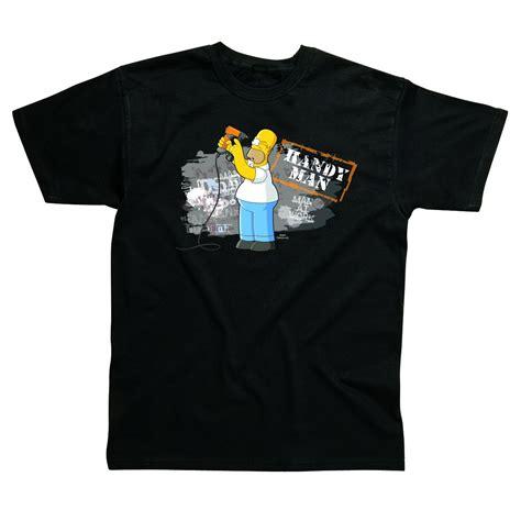 T Shirt Guitar Players Evolution Anime mens homer the simpsons handyman diy t shirt s ebay